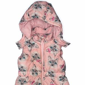 H&M Kitty 🐱 Puffer Vest 🎀